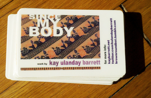 Since My Body EP / Uploadable Drop Card (live recording)