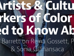[September 4, 2015 | 3 Artists & Cultural Workers You Need to Know About – medium.com]