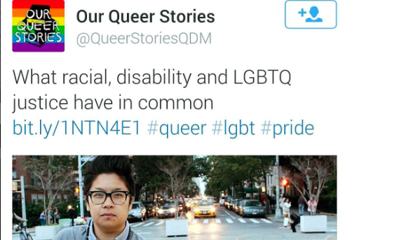 [December 1, 2015 | NPR, Our Queer Stories Feature]