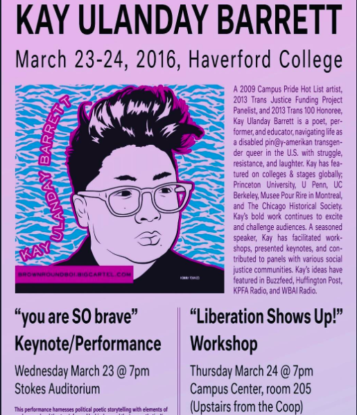 [March 23, 2016 | Performance @ Haverford College]